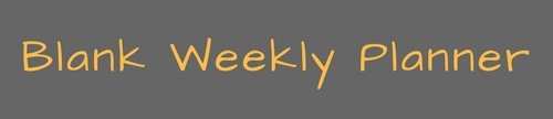blank weekly planner cropped